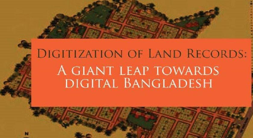 Digital land record saves in 55 district