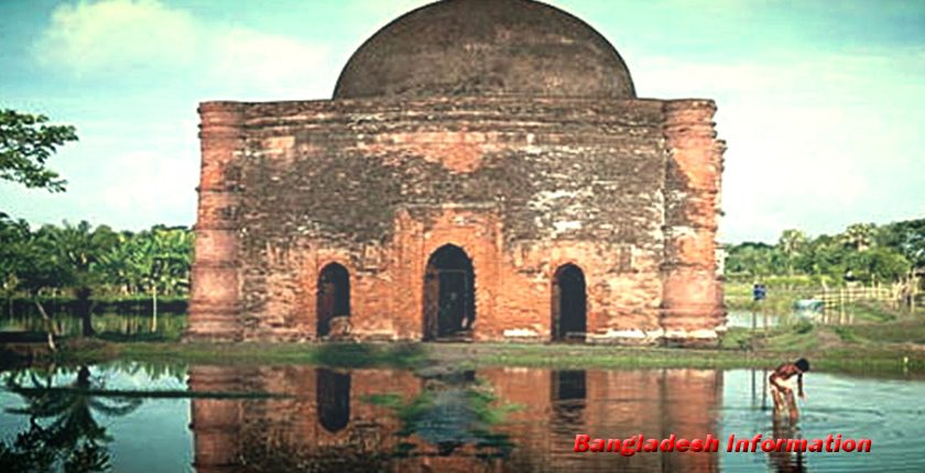 Bibichini Shahi Mosque, Betagi in Barguna